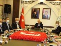 Bakan Soylu, güvenlik toplantısını Hakkari'de yaptı