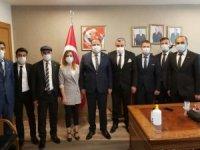 Başkan Özbek'ten Ankara'ya ziyaret
