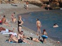 Antalya'da bugün deniz keyfi