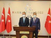 """Bakan Kasapoğlu Hakkari""""de"""