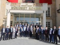 Türkiye muhtarlar konfederasyon heyeti Hakkari'de