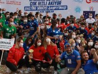 Zap Nehrinde Türkiye Rafting şampiyonası ödül töreni yapıldı