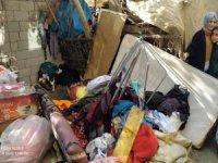 Hakkari'de korkutan ev yangını