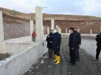 Yüksekova'da 7 bin 500 metrekarelik barınak