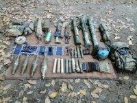 Oğul köyü kırsalında silah ele geçirildi