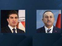 Çavuşoğlu'dan Neçirvan Barzani'ye taziye telefonu