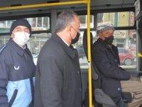 Hakkari'de toplu taşıma araçları denetlendi