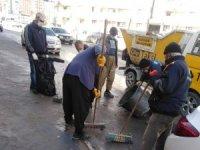 Hakkari belediyesinde genel temizlik