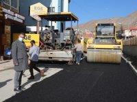 Hakkari Atatürk Caddesi asfaltlandı