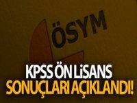 KPSS Ön Lisans sonuçları açıklandı!