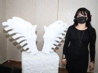 """""""Firdevs sağlam heykel sergisi"""" açıldı"""
