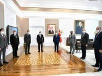 Başkan Gür'den Bakan Koca'ya ziyaret