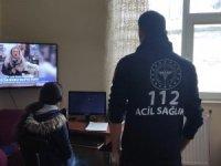 Online eğitime köylerinde katılıyorlar
