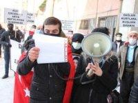 """HDP İl Binası önünde """"Evlat Nöbeti"""" 2'inci haftasında"""