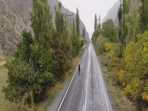 Hakkari manzarası ve bisiklet turu